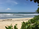 Beach at Cahuita National Park in Costa Rica