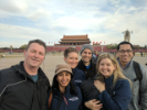 EMBAs at Tiananmen Square in China.
