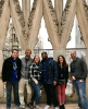 PMBAs on the roof of the Milan Cathedral in Italy.