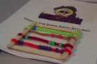 By creating their own abacus, the girls discovered how to compute binary numbers.