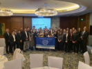 MBA students at an alumni reception in Shanghai, China.