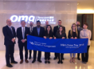 MBA students visiting Tencent in Shenzhen, China.