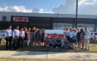 School of Management students visiting Zollner in Cartago, Costa Rica.