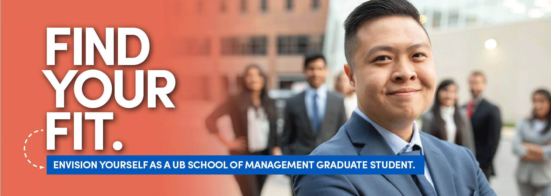 Find your fit. Envision yourself as a UB School of Management Graduate Student.