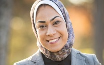 Asmaa Lashin. Read the student profile in this issue of Buffalo Business.