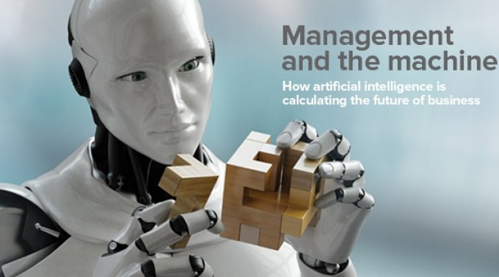 Read the Spring 2017 cover story - Management and the machine, How artificial intelligence is calculating the future of business.
