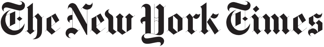 New York Times logo.