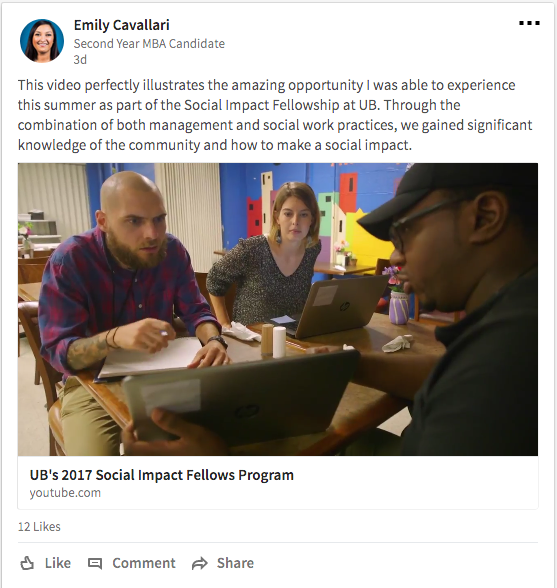 Social Impact Fellows on LinkedIn.