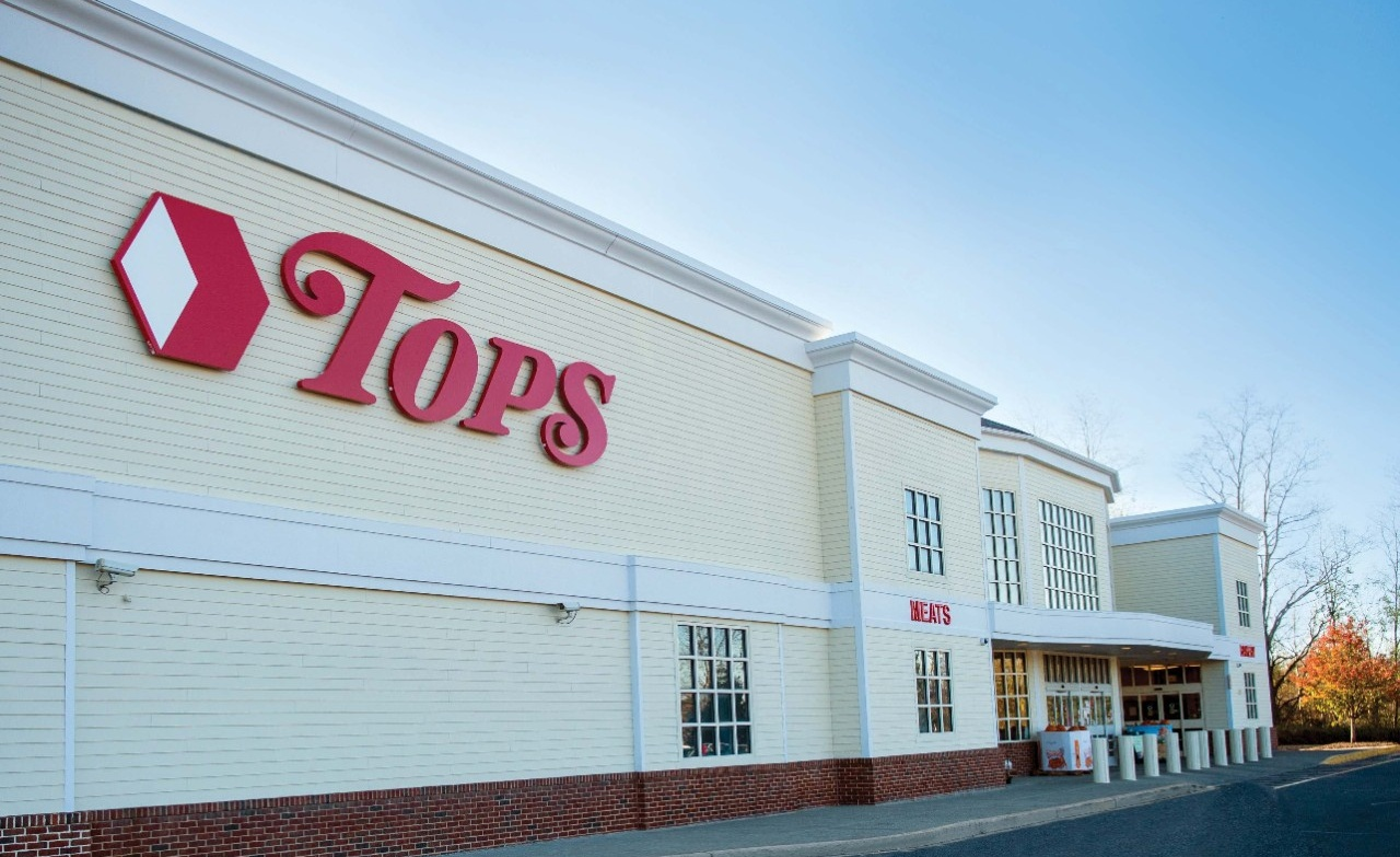 Tops Markets storefront.