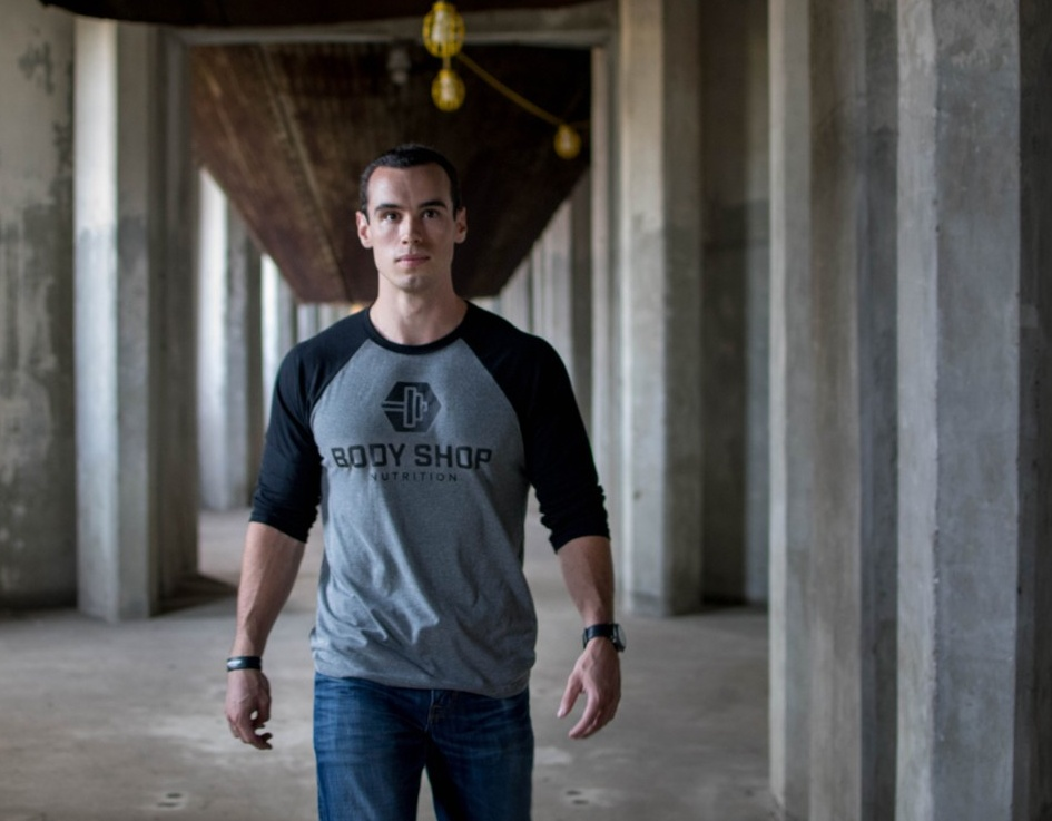 Ryan Carr walks through an industrial site.