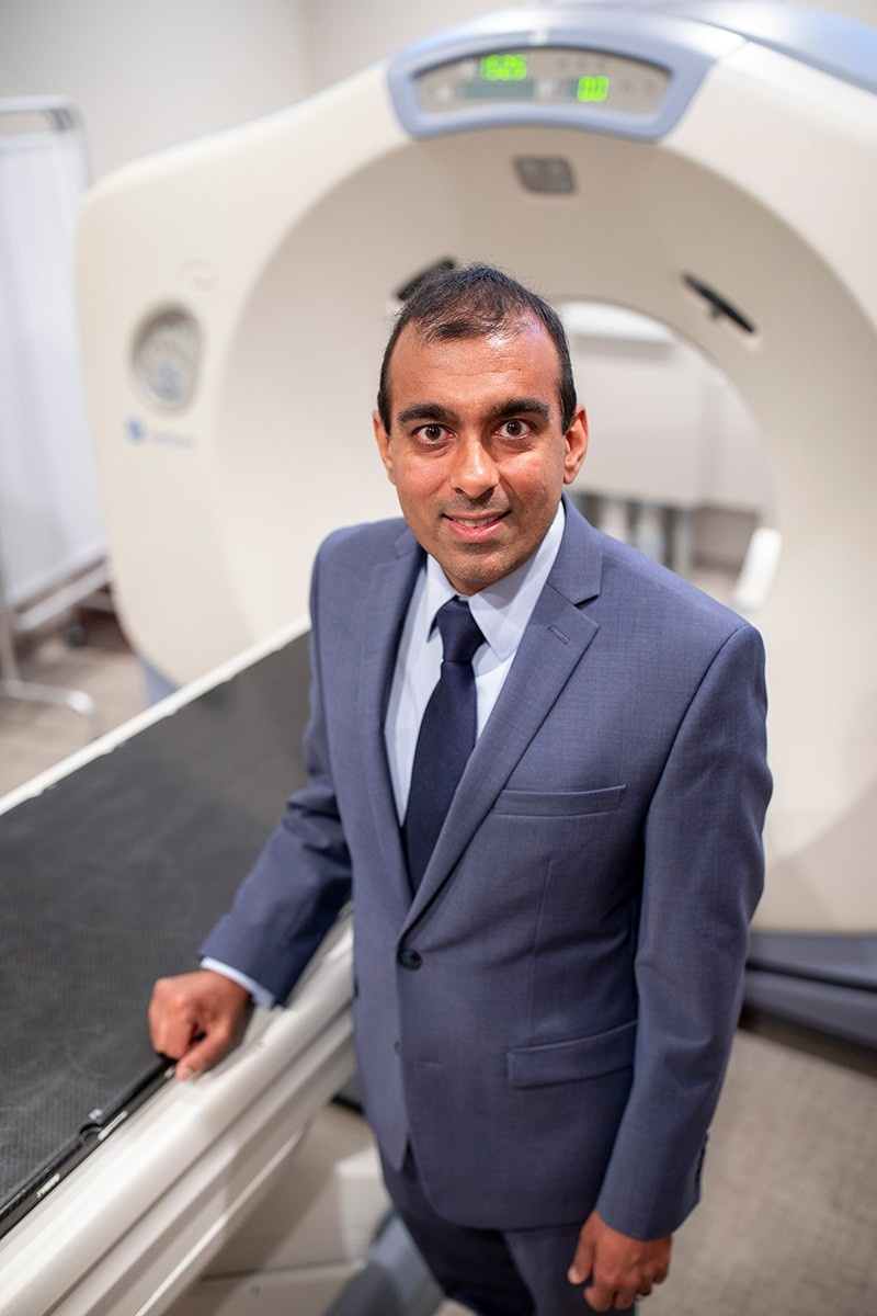 Chowdhry at Southtowns Radiation Oncology in Orchard Park.