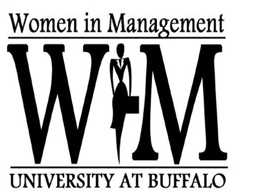 Women in Management logo.