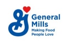 General Mills logo with tagline, Making Food People Love