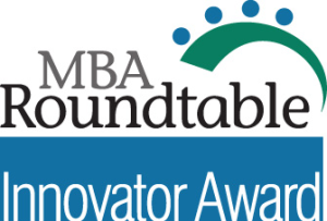 Logo for MBA Roundtable Innovator Award