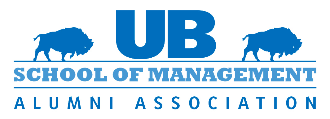 UB School of Management Alumni Association logo.