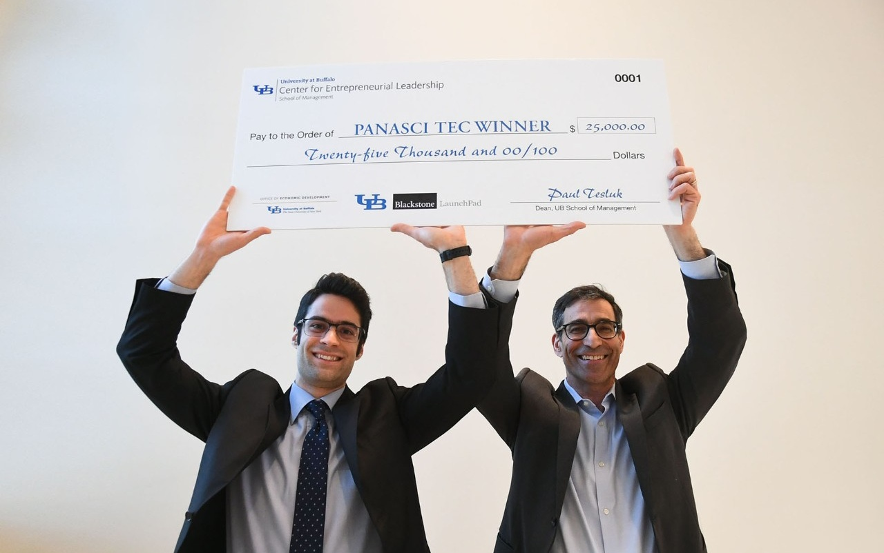 "Good example of a ""big check"" photo."