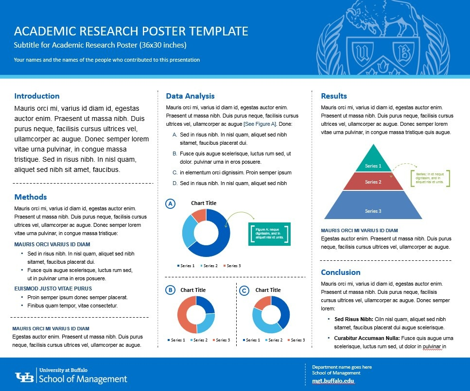 Example of School of Management research template.