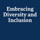 Embracing Diversity and Inclusion graphic.