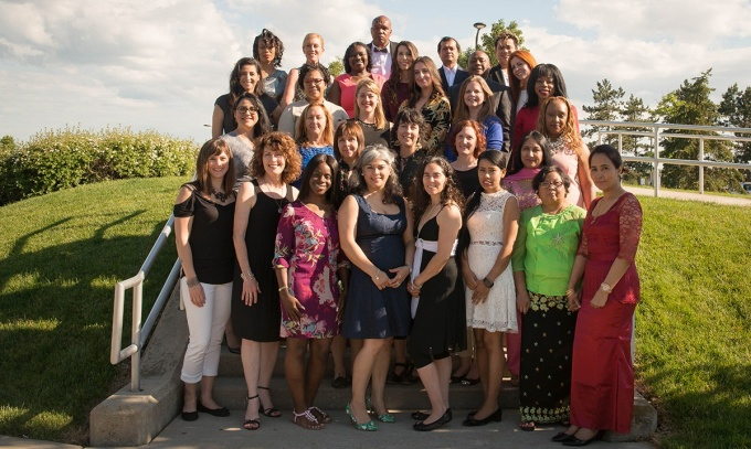 The Allstate Minority and Women Emerging Entrepreneurs program's Class of 2017. (Photo: Heather Bellini)