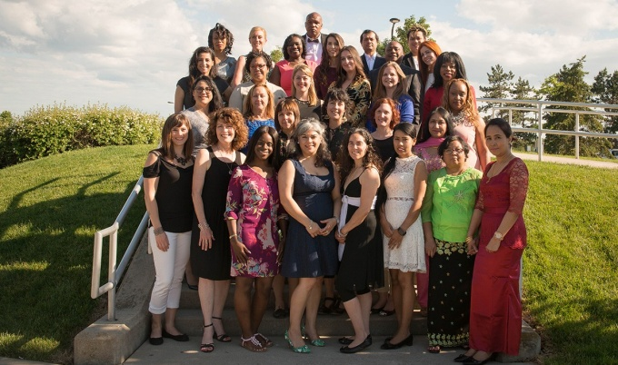 The Class of 2017 for the Allstate Minority and Women Emerging Entrepreneurs (MWEE) program.