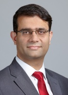 Headshot of Vikram Panjwani, the speaker for this year's Sufrin Lecture.