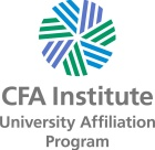 CFA Institute University Affiliation Program logo.