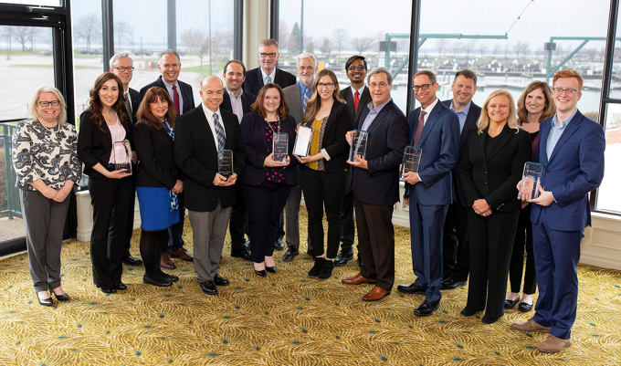 Group photo of 2019 CRC Award Recipients.