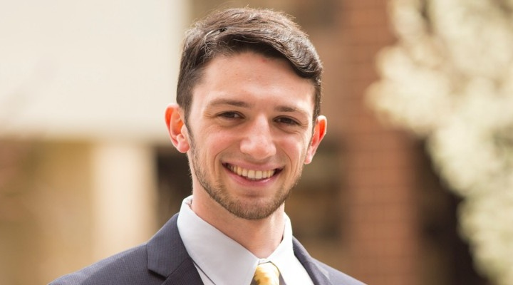 Profile story of Alec Schon, BS '15, MS '16.