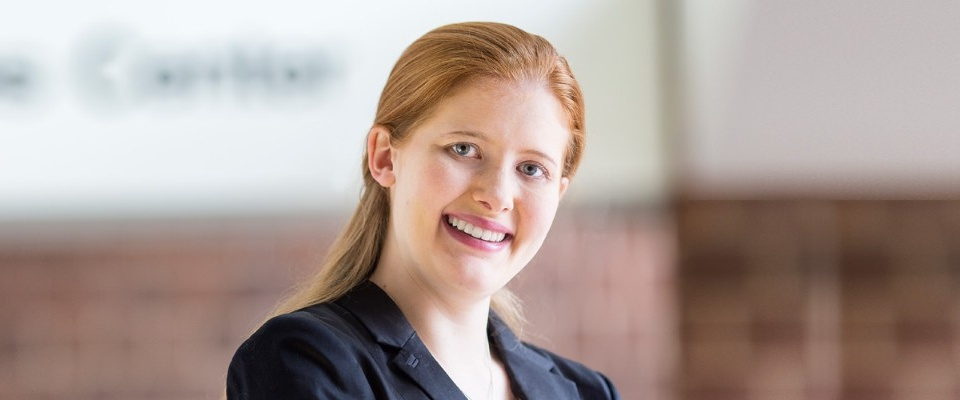 Profile story of Elizabeth (Eilish) Cumbo, PMBA '16