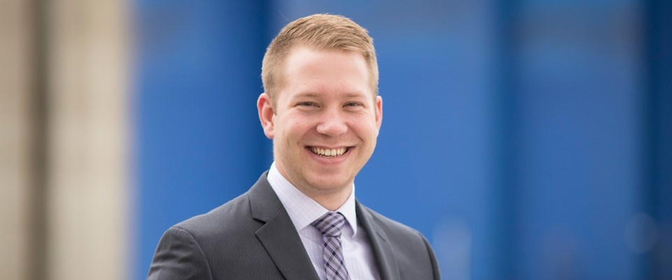 Profile story of Jason MacLean, PMBA '15