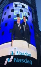 Degnan on the Nasdaq screen.